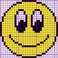 Smiley No. Xmas Cross Stitch, Cross Stitch Borders, Cross Stitch Baby, Cross Stitch Alphabet, Cross Stitch Flowers, Cross Stitch Charts, Cross Stitch Designs, Cross Stitching, Cross Stitch Embroidery