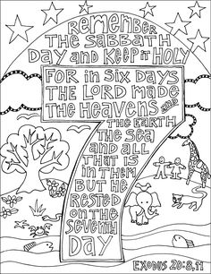 Scripture Doodle Coloring Pages For LOTS Of Bible Verses