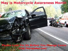 HARLEY DAVIDSON RIDES VANC. BC - PLSE LOOK BEFORE CHANGING LANES BECAUSE SOMETIMES WE ARE RIGHT BESIDE YOU.