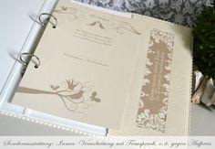 Hochzeitsalben - Familienstammbuch ♥ im Din A5-Format - ein Designerstück von Bloomgart bei DaWanda
