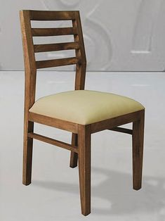 silla de comedor tapizada urban de bamb blau de madera de teca estilo colonial