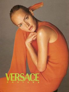 Versace Campaign Couture SS 1996 - Amber Valletta by Richard Avedon