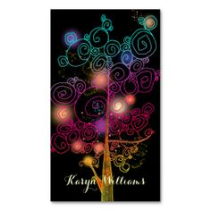 Stylish Spiral Trees Massage Therapy Business Card. I love this design! It is available for customization or ready to buy as is. All you need is to add your business info to this template then place the order. It will ship within 24 hours. Just click the image to make your own!