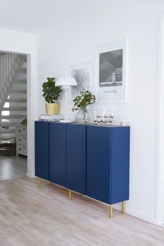 ikea hack ivar - Ikea DIY - The best IKEA hacks all in one place Ivar Ikea Hack, Ikea Eket, Ikea Sideboard Hack, Ikea Ivar Cabinet, Modern Sideboard, Ikea Furniture Hacks, Home Furniture, Furniture Movers, Furniture Ideas