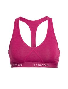 a210bfdc95 A soft and supportive women s racerback bra made with our merino wool  jersey corespun fabric