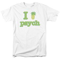 PSYCH I LIKE PSYCH Adult Regular Fit Short Sleeve T-Shirt