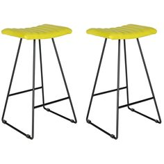 Akito Barstool Set of 2 in Green