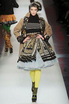Look at that skirt! Jean paul 2010