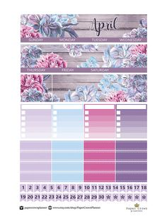 Printable APRIL Monthly View Planner Stickers for the Erin Condren Vertical Life Planner You will receive 4 Zip files ( PDF;JPEG;PNG; CUTFILE; Blackout PNG); US Letter size *top covers *4 sidebar checklists *date covers *16 stitched label *8 headers *4 full boxes *8 half boxes *40