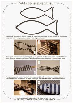 Made by Ozen: Poissons d'avril...en tissu