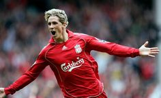 Torres scored 24 league goals in his debut season at Anfield