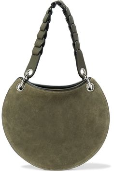 Shop on-sale Emilio Pucci Leather and suede shoulder bag. Browse other discount designer Shoulder Bags & more on The Most Fashionable Fashion Outlet, THE OUTNET.COM
