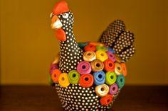 Brasil - chicken art