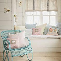 Flur Diele Wohnideen Möbel Dekoration Decoration Living Idea Interiors home corridor - Hübschen Pastell Flur