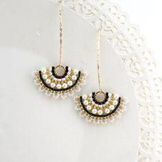 Pendientes de perla de la boda pendientes de novia perla