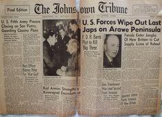 The Johnstown Tribune - World War II: December 18, 1943: U.S. Forces Wipe Out Last Japs ...