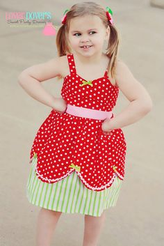 Strawberry dress Strawberry  Shortcake by loverdoversclothing