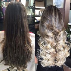Ombre transformation