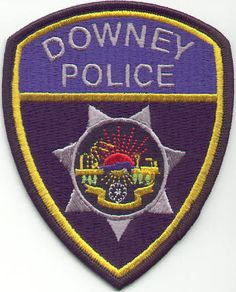 Downey PD Calif patch