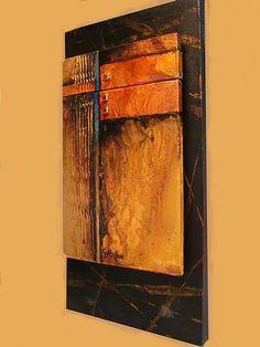 """ARRANGEMENT"" 11039 by Carol Nelson Mixed ~ 10 x 5.5"