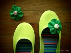 DIY Shoes Refashion: DIY Shoe Clips