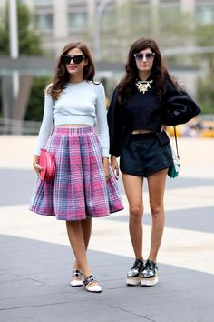 Street Style Trend: Creepers | 22 Fashion Girls Who Make Creeper Shoes Incredibly Chic | StyleCaster
