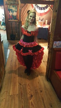 can can dancer costume moulin rouge - Can Can Dancer Halloween Costume