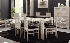 Stół + 6 krzeseł ekskluzywnych