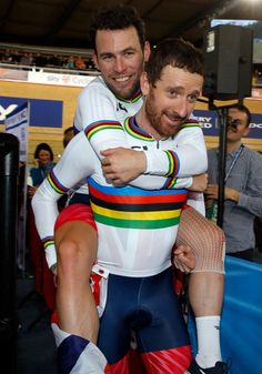 UCI Track Cycling World Championships: Bradley Wiggins / and Mark Cavendish