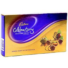 Cadburys Celebration Rich Dry Fruits Collection Gift Box to Kolkata, West Bengal Rs. 715 / $ 11.92