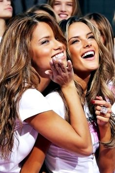 Andriana Lima and Alessandra Ambrosio- Beautiful