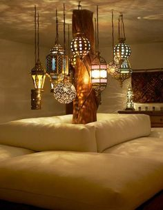 cozy Moroccan-inspired space