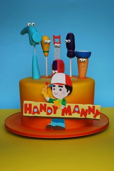 Disney Junior | Drucken und Ausmalen - Meister Manny's ...