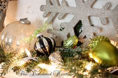 A Whole Bunch Of Christmas Mantels