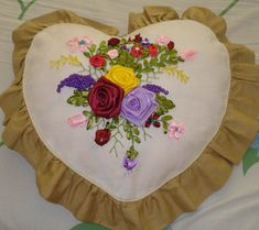 Ribbon Embroidery How To