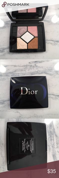 Christian Dior 5 Eyeshadow Palette Christian Dior 5 color Eyeshadow palette. #360 Amber Treasure. Used twice. Comes with velvet protector sleeve. No box. Sephora Makeup Eyeshadow