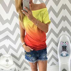 8ba84cc3f573 Stylové dámské triko Nericka - žluté - Pošta Zdarma Streetwear