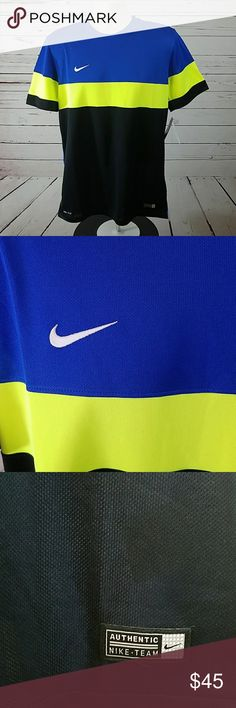 Nike Soccer Jersey Shirt Med Dri-Fit Mens NWT Nike Soccer Jersey Shirt Med Dri-Fit Mens new with tags Nike Shirts