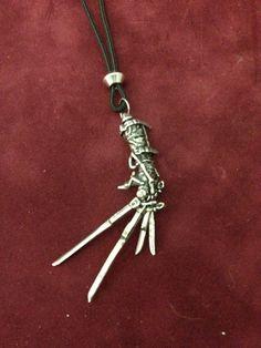 Edward Scissorhands Pendant    POWERFULLY JUMP START YOUR VEHICLE!!! Click http://www.amazon.com/gp/product/B00RZ1TKYE
