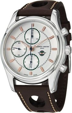 Men watches : Frederique Constant Healey Chronograph Automatic Stainless Steel Mens Watch 392HVG6B6