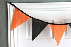 halloween wedding bunting
