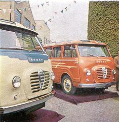 Alfa Romeo, Romeo 2 van, an Italian alternative the VW Type 2