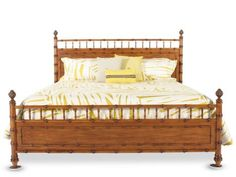 Mathis Brothers Furniture - Bamboo Bed Set