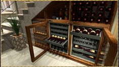 Home Decor Furniture, Cupboard, Wine Rack, Stairs, Storage, Houses, Design, Places, Youtube