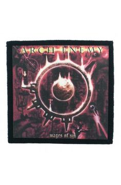 ARCH ENEMY - Wages Of Sin (toppa piccola)   - misure: (larghezza 9,8 cent. - altezza 9,8 cent.)