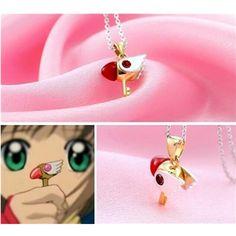 Cardcaptor Sakura Sealing Wand Necklace