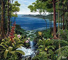 Osa Peninsula Costa Rica by Michael Cranford