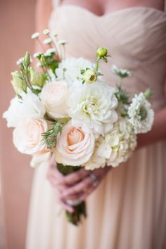 blush and ivory bouquet |  Photography by birdsofafeatherphoto.com |  Planning + Design by amorologyweddings.com |  Floral Design by twiggbotanicals.com |   Read more - http://www.stylemepretty.com/2013/07/15/rancho-santa-fe-wedding-from-birds-of-a-feather-amorology/