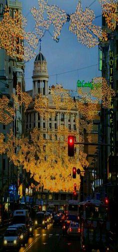 Madrid y sus luces de Diciembre