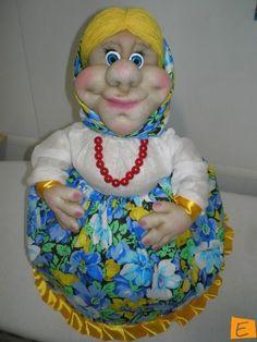 Куклы - Бабулька на чайник | Eksklyuziff.com